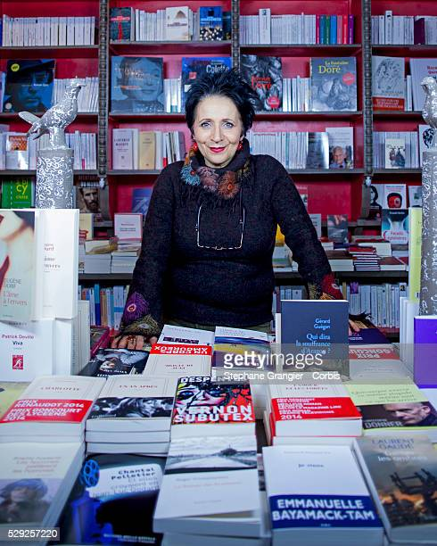 Marie Rose Guarnieri Library Bookstore des Abbesses photographed in Paris