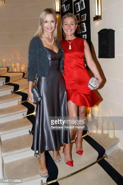 Marie Saldmann and Claire Duroc Danner attend the Boucheron Cocktail Party at Place Vendome on January 20 2019 in Paris France