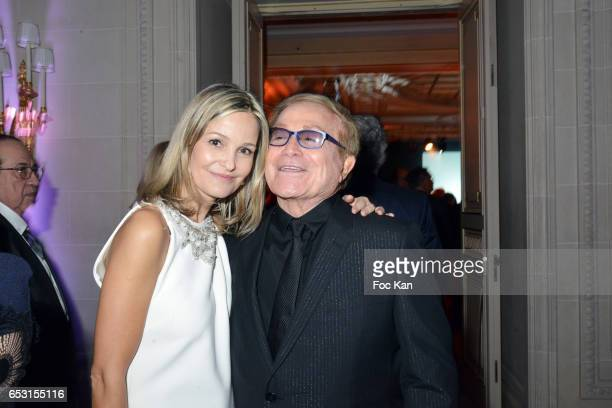 Marie Saldmann and Orlando attend 'La Recherche en Physiologie' Charity Gala at Four Seasons Hotel George V on March 13 2017 in Paris France