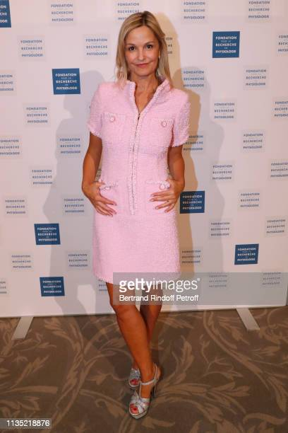 Marie Saldmann attends the Stethos d'Or 2019 Charity Gala of the Foundation for Physiological Research at on March 11 2019 in Paris France