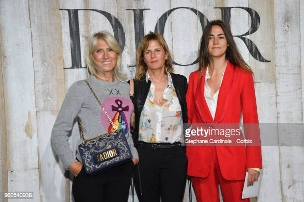 Marie Sara Virginie Couperie Eiffel and a guest attend the Christian Dior Couture S/S19 Cruise Collection on May 25 2018 in Chantilly France