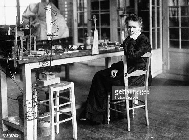 Marie Sklodowka Curie in her laboratory She shared a Nobel Prize in Physics in 1903 with her husband Pierre for their work in radioactivity In 1911...