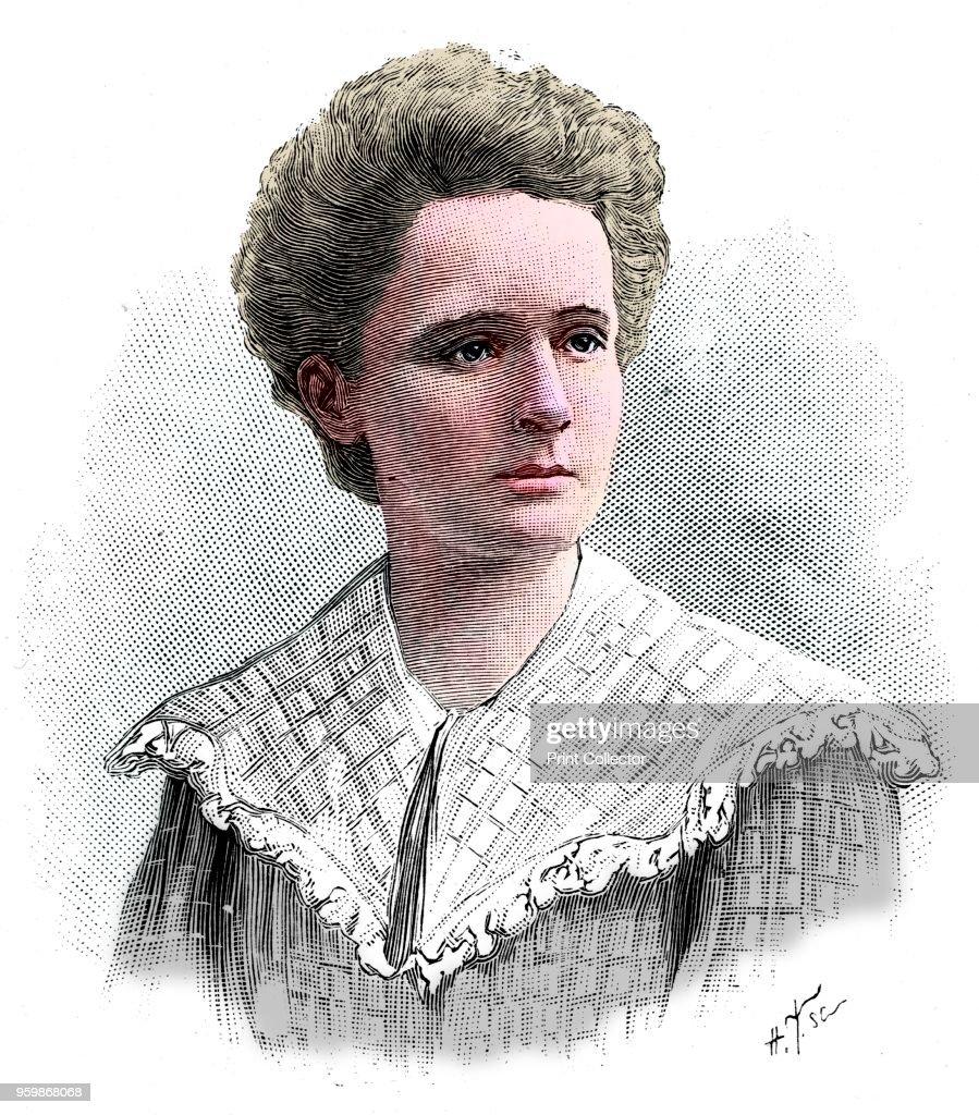 Marie Sklodowska Curie : Fotografía de noticias