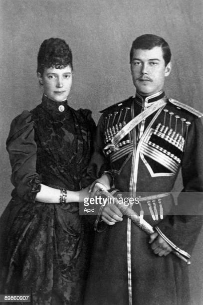Marie Sophie Frederikke Dagmar she became empress of Russia as Maria Fedorovna AlexandreIII's wife with her eldest son Nicolas future czar Nicolas II...