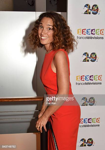 Marie Sophie Lacarrau attends France Television presents its programs 20162017 at France Television studios on June 29 2016 in Paris France
