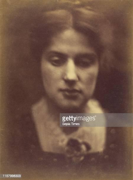 Marie Spartali; Julia Margaret Cameron. British. Born India. 1815 - 1879; Freshwater. England. Europe; 1870; Albumen silver print; Image: 36.2 x 26.7...