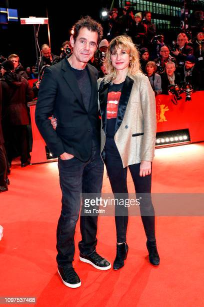 Marie Steinmann and Tom Tykwer attend the opening ceremony and The Kindness Of Strangers premiere during the 69th Berlinale International Film...