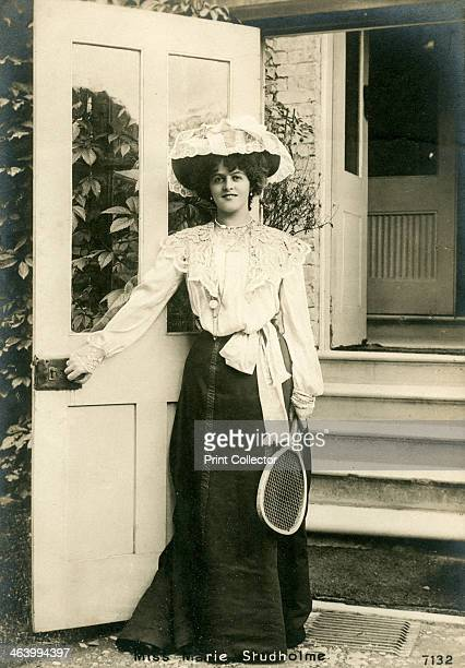 Marie Studholme, British actress, c1900s. Marie Studholme was born Marion Lupton. She starred in Victorian and Edwardian musical comedies.