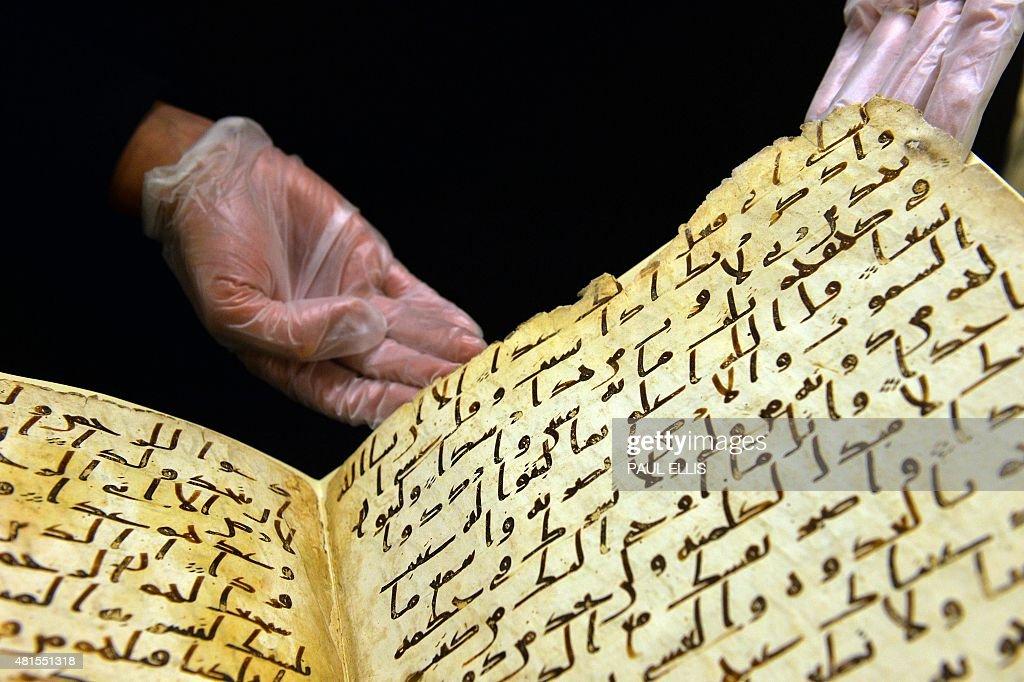 BRITAIN-RELIGION-ISLAM-HISTORY : News Photo