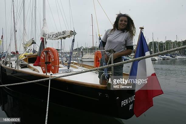 Marie Tabarly Onboard Pen Duick 2. Marie TABARLY Pen Duick 2.