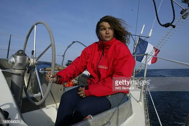 Marie Tabarly Onboard Pen Duick 6. Marie TABARLY Pen Duick 6.
