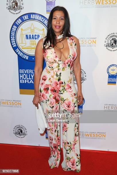 Marie Theodore the 27th Annual NAACP Theatre Awards at Millennium Biltmore Hotel on February 26 2018 in Los Angeles California