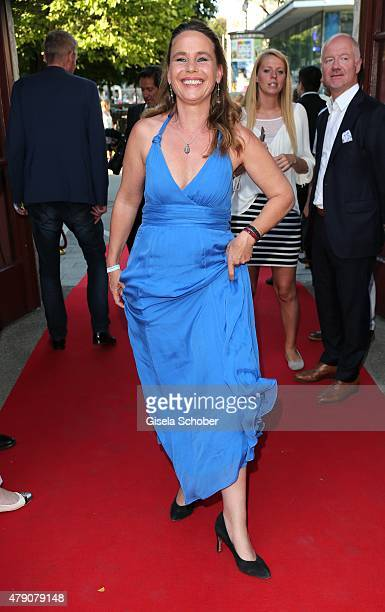 Marie Theres Kroetz Relin attends the Bavaria Film reception during the Munich Film Festival at Kuenstlerhaus am Lenbachplatz on June 30 2015 in...