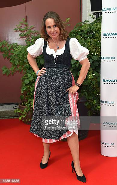 Marie Theres KroetzRelin during the Bavaria Film reception during the Munich Film Festival 2016 at Kuenstlerhaus am Lenbachplatz on June 28 2016 in...
