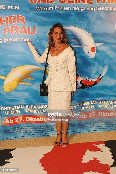 Marie Theres Relin At The Premiere Of 'The Fisherman And His Wife' In Mathäser cinema in Munich