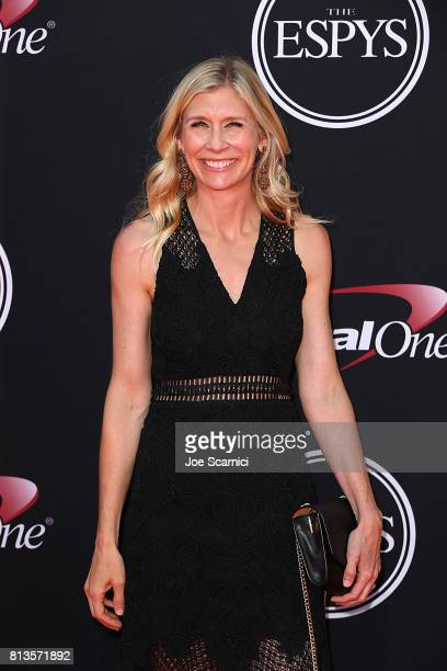 Marie Tillman arrives at the 2017 ESPYS at Microsoft Theater on July 12 2017 in Los Angeles California