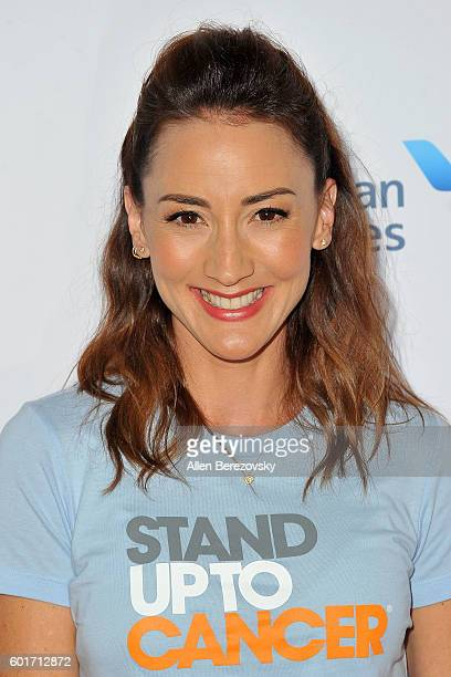 Marie Turner arrives at the Hollywood Unites for the 5th Biennial Stand up to Cancer A Program Of The Entertainment Industry Foundation at Walt...
