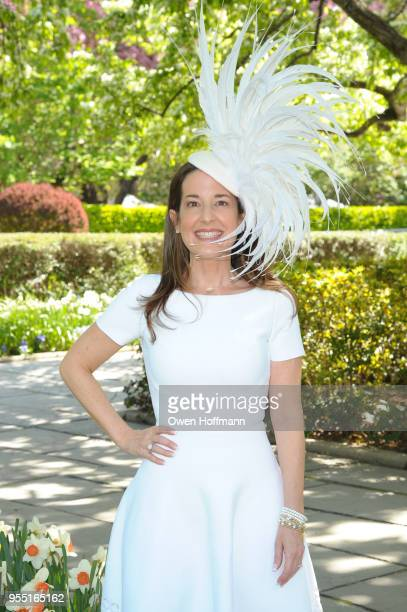 Marie Unanue attends 36th Annual Frederick Law Olmsted Awards Luncheon Central Park Conservancy at The Conservatory Garden in Central Park on May 2...