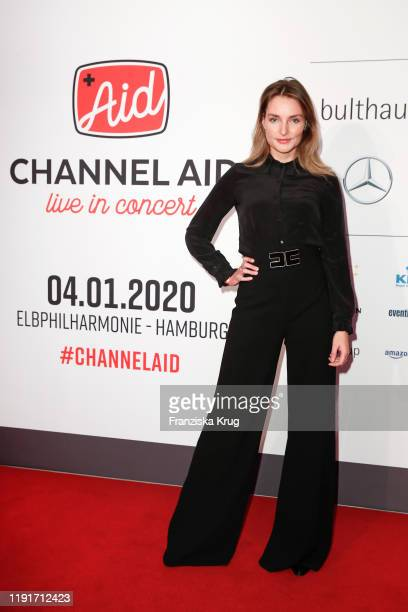 Marie von den Benken during the Channel Aid Live in concert at Elbphilharmonie on January 4 2020 in Hamburg Germany
