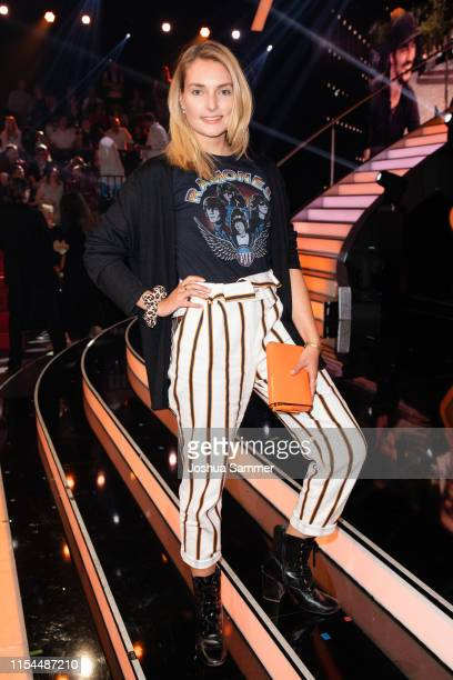Marie von den Benken is seen during the 11th show of the 12th season of the television competition Let's Dance on June 07 2019 in Cologne Germany