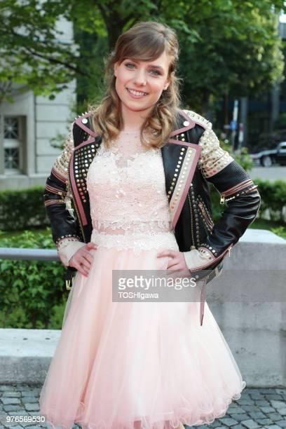 Marie Wegener attends the Bayerischer Fernsehpreis at Prinzregententheater on May 18 2018 in Munich Germany