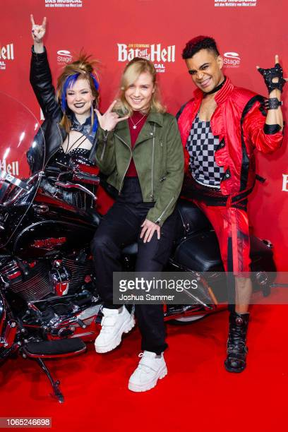 Marie Wegener attends the premiere of the musical 'Bat out of Hell' at Stage Metronom Theater on November 8 2018 in Oberhausen Germany