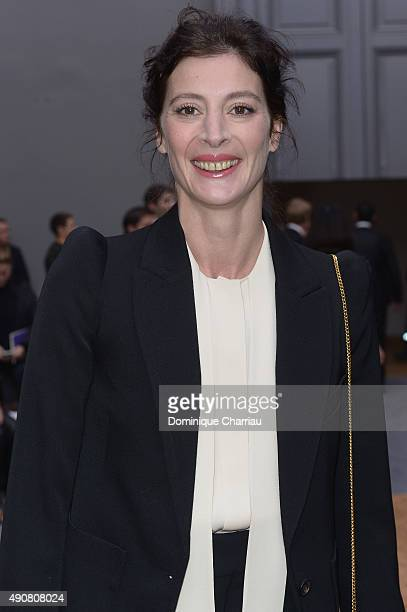 MarieAgnes Gillot attends the Chloe show as part of the Paris Fashion Week Womenswear Spring/Summer 2016 on October 1 2015 in Paris France