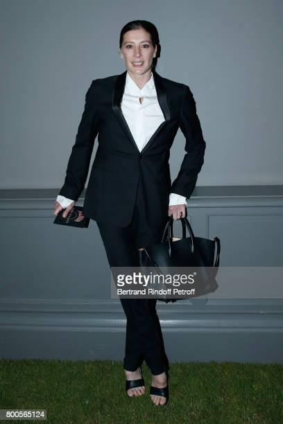 dd74804a2d5b MarieAgnes Gillot attends the Dior Homme Menswear Spring Summer 2018 show  as part of Paris