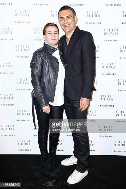 MarieAmelie Seigner attends Stuart Weitzman Cocktail Party For #Rockrollride short film premiere at Hotel Salomon de Rothschild on September 29 2014...