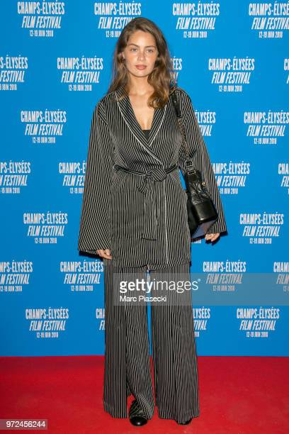 MarieAnge Casta attends the 7th Champs Elysees Film Festival at Cinema Gaumont Marignan on June 12 2018 in Paris France