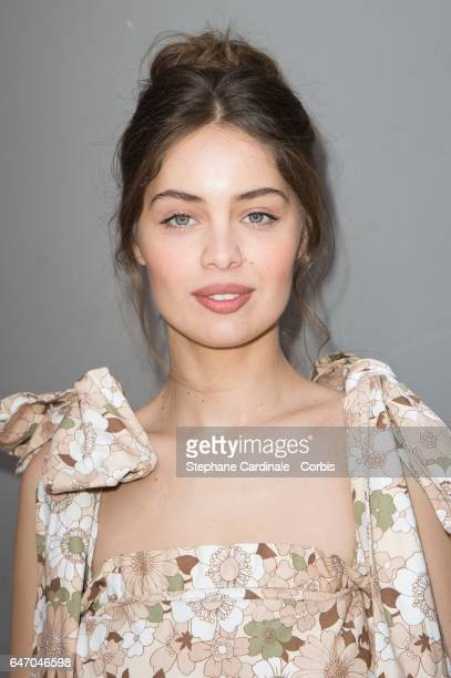 MarieAnge Casta attends the Chloe show as part of the Paris Fashion Week Womenswear Fall/Winter 2017/2018 on March 2 2017 in Paris France