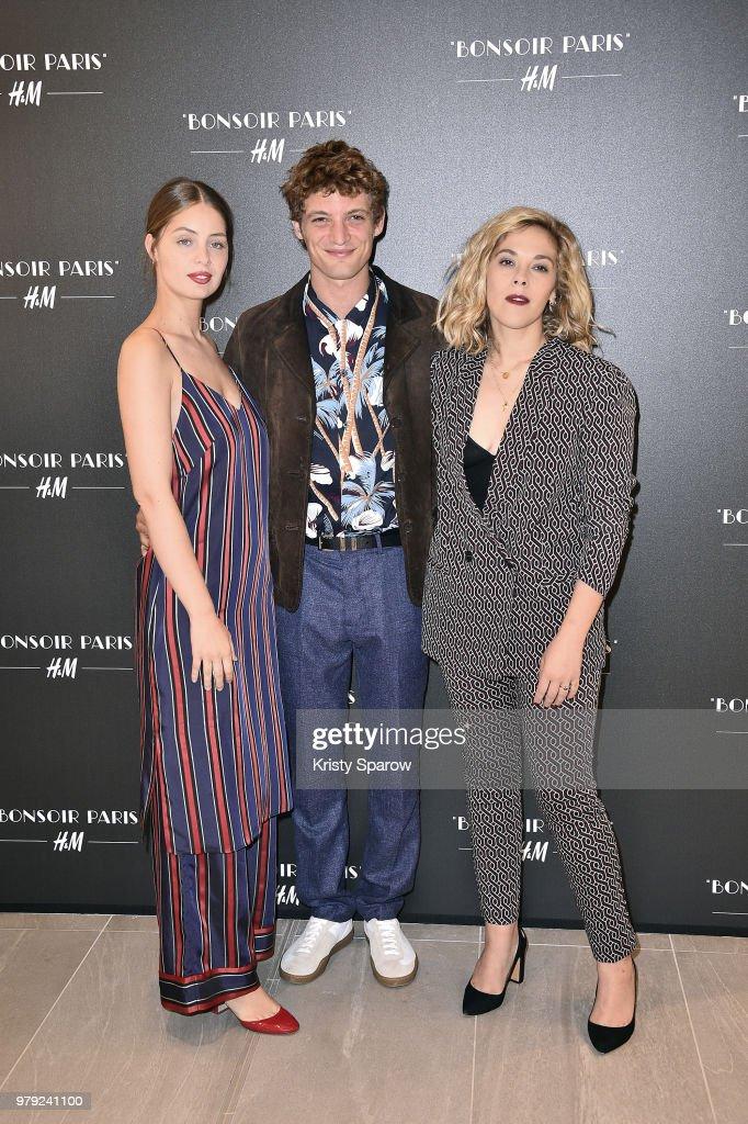"""Bonsoir Paris"" : H&M Opens Its Flagship At Rue La Fayette - Paris Fashion Week - Menswear Spring/Summer 2019"