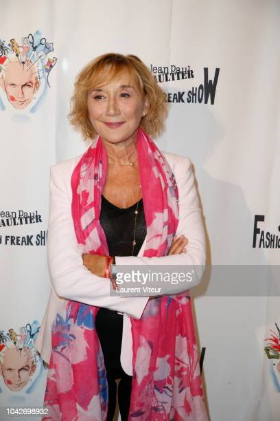 MarieAnne Chazel attends the Fashion Freak Show as part of the Paris Fashion Week Womenswear Spring/Summer 2019 on September 28 2018 in Paris France