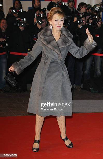 MarieAnne Chazel attends the NRJ Music Awards 2011 at the Palais des Festivals et des Congres on January 22 2011 in Cannes France