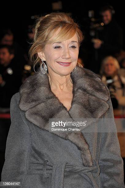 MarieAnne Chazel attends the NRJ Music Awards 2011 on January 22 2011 in Cannes France