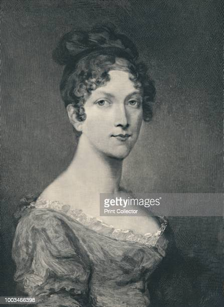 MarieAnneElisa Bonaparte wife of Felice Pasquale Bacciocchi Princess of Lucca and Piombino Grand Duchess of Tuscany Countess of Compignano' c late...