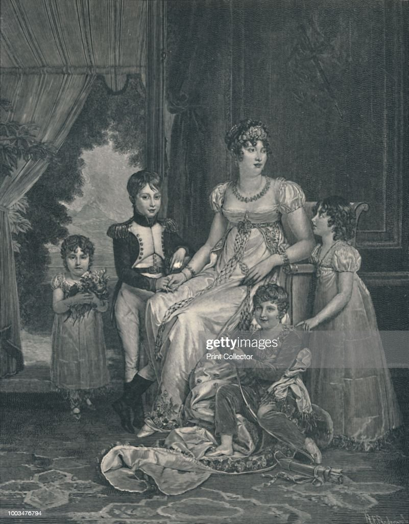 Marie-Annunciade-Caroline Bonaparte : News Photo