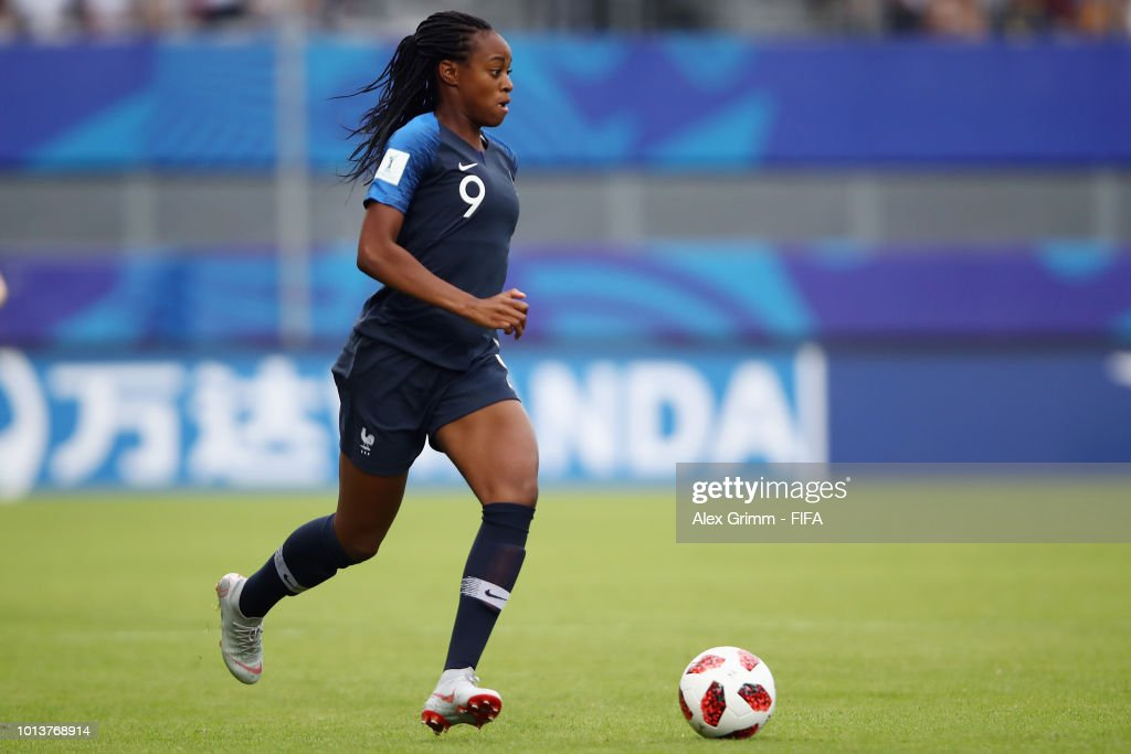 France v New Zealand: Group A - FIFA U-20 Women's  World Cup France 2018 : Photo d'actualité