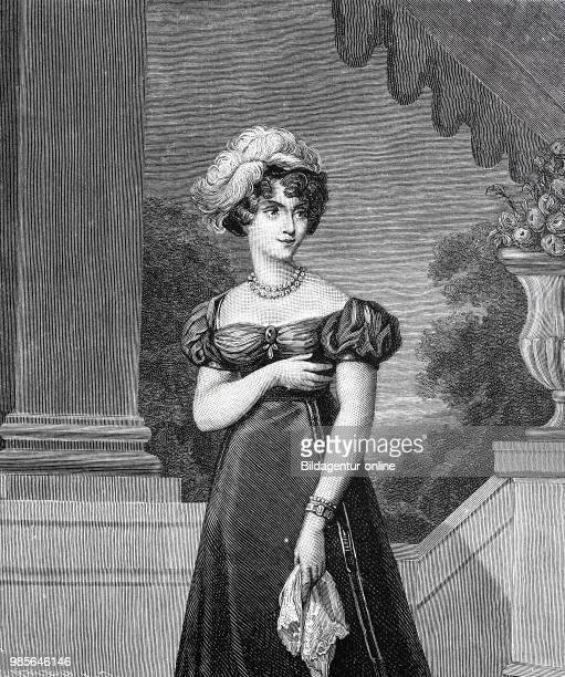 Marie-Caroline de Bourbon-Sicile, duchesse de Berry, Maria Carolina Ferdinanda Luise, 5 November 1798 - 17 April 1870, was an Italian princess of the...