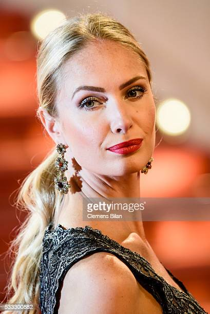MarieCassandre Bultheel attends The Salesman Premiere during the 69th annual Cannes Film Festival at the Palais des Festivals on May 11 2016 in...