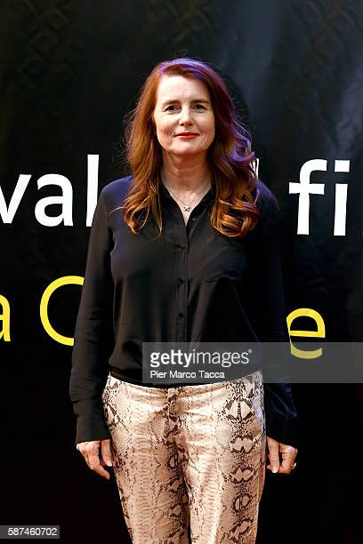 MarieCastille MentionSchaar attends 'Le ciel attendra' premiere during the 69th Locarno Film Festival on August 8 2016 in Locarno Switzerland