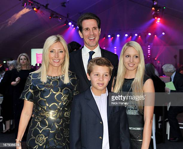 MarieChantal Crown Princess of Greece Pavlos Crown Prince of Greece MarieChantal and Maria Olympia attend annual fundraiser in aid of Gabrielle's...