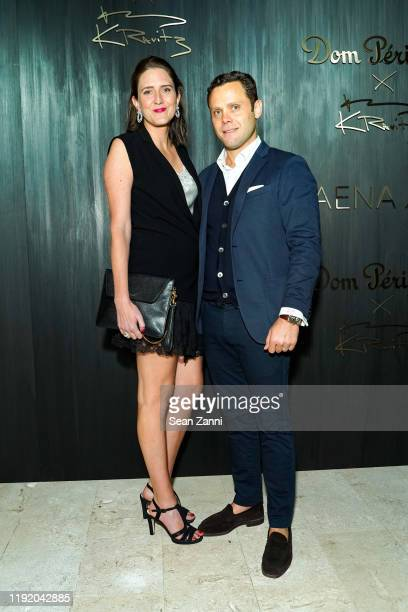 MarieCharlotte Bulte and Jim Boptiste Maillaird attend Dom Perignon Last Supper Party Hosted By Lenny Kravitz And Alan Faena on December 04 2019 in...