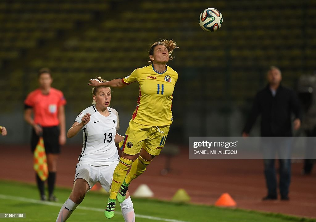 FBL-WOMEN-EURO-2017-ROU-FRA : News Photo