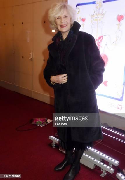 MarieChristine Adam attend the Soiree du Cœur Auction Concert Hosted by Mécenat Chirurgie Cardiaque at Salle Gaveau on January 27 2020 in Paris France