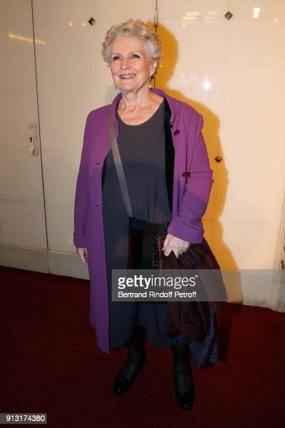 MarieChristine Barrault attends the 'Heart Gala' Evening to benefit the 'Mecenat Chirurgie Cardiaque' at Salle Gaveau on February 1 2018 in Paris...