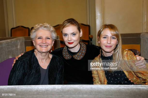 MarieChristine Barrault Julie Judd and Laura Boujenah attend the 'Heart Gala' Evening to benefit the 'Mecenat Chirurgie Cardiaque' at Salle Gaveau on...