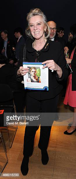 MarieClaire Baroness von Alvensleben attends the Terrence Higgins Trust auction at Christie's King Street on March 12 2015 in London England