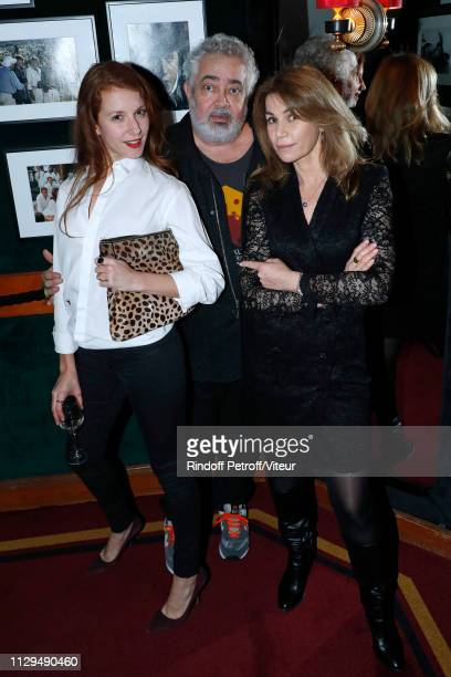MarieClotilde RamosIbanez Paul Boujenah and Valerie Kaprisky attend Claude Lelouch receives the Insignia of Officer of the Legion of Honor at Club 13...