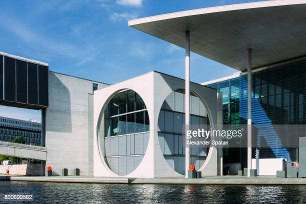 Marie-Elisabeth-Lueders-Haus in new government district, Berlin, Germany